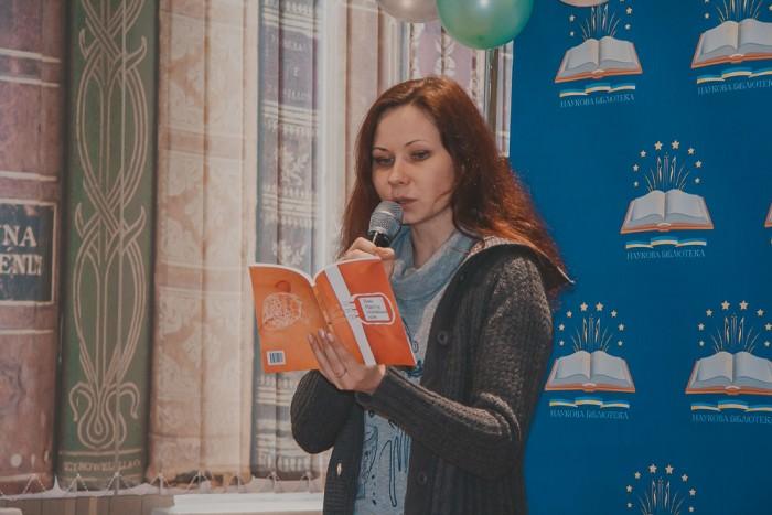 Анна Малігон – українська поетеса, письменниця, лауреат літературних премій «Благовіст», «Ватерлінія», міжнародної недержавної україно-німецької літературної премії імені Олеся Гончара;