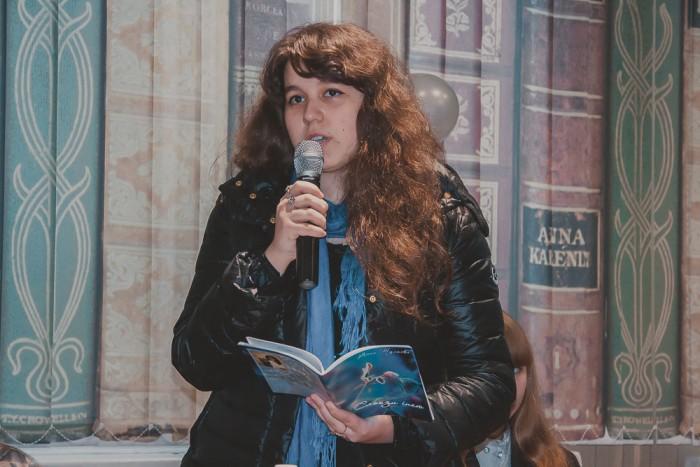 Анна Тульєва – студентка 2-го курсу, групи КББ-54