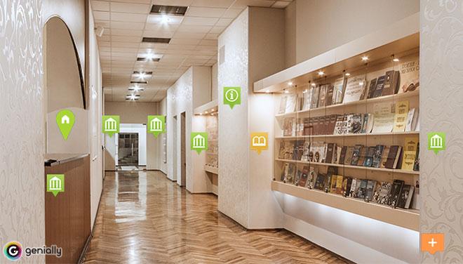 Віртуальна екскурсія Науковою бібліотекою КНУКіМ